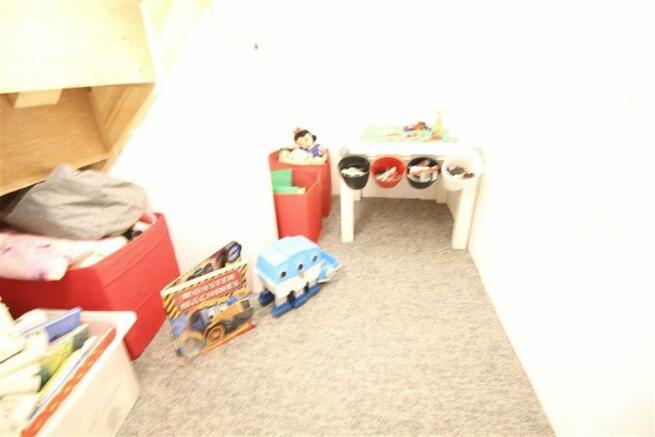 Under-stairs storage: