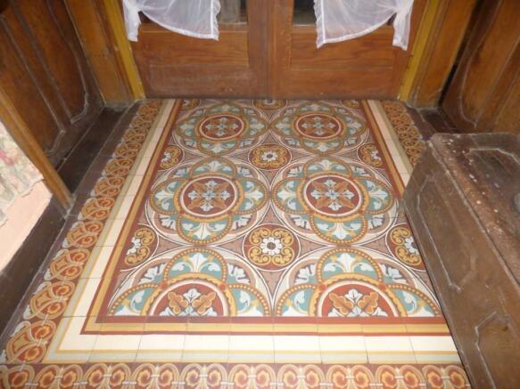 Floor hallway