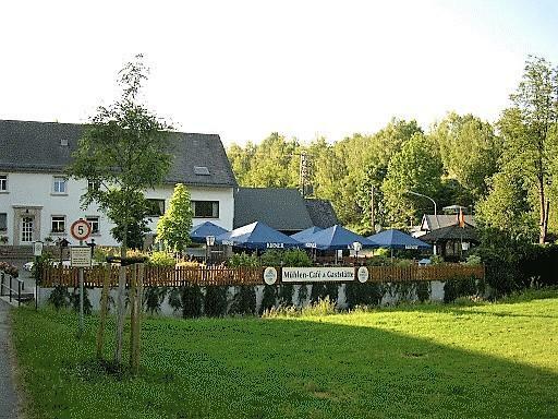 View from beergarden
