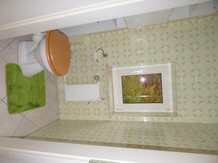 Cloak room top floor