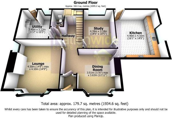 3D Floorplan Ground Floor