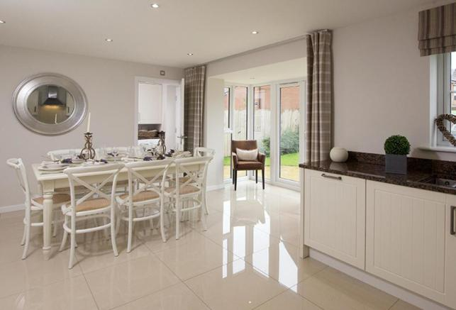 Typical Guisborough dining area
