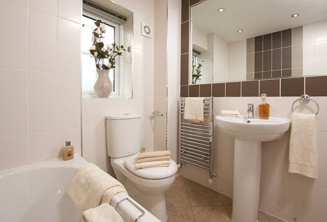 Typical Guisborough family bathroom
