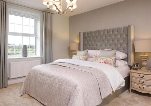 Typical Foxton master bedroom