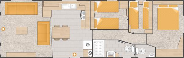 3 Bed Floorplan