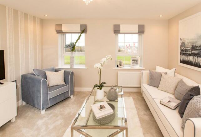 Typical Faversham lounge