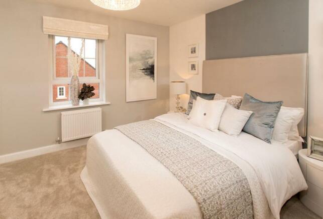 Typical Faversham bedroom