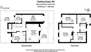 Fielding Road W4 - FLOOR PLAN