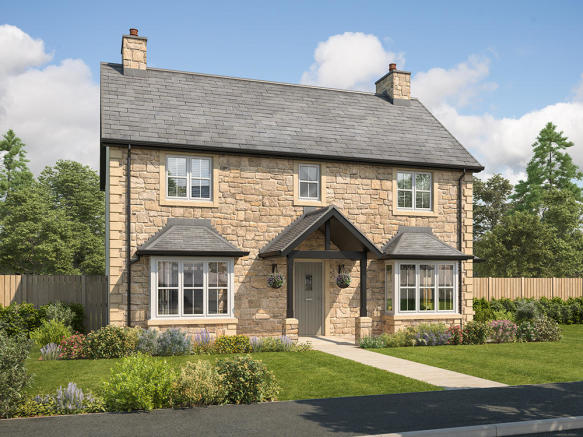 External CGI of 4-bedroom Arundel