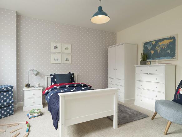 Double third bedroom