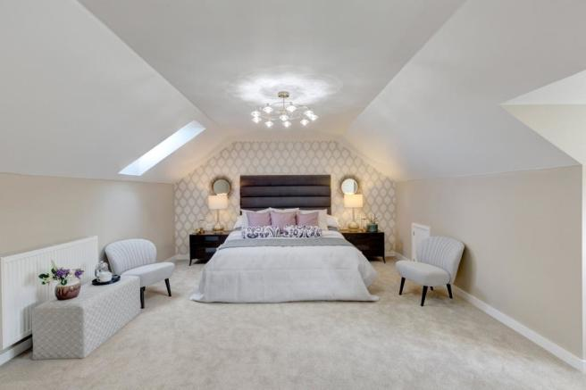 Show Home Master Bed
