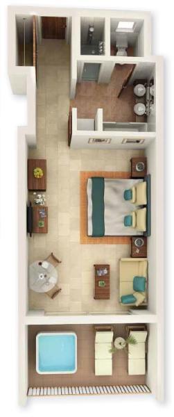 Floor plan four