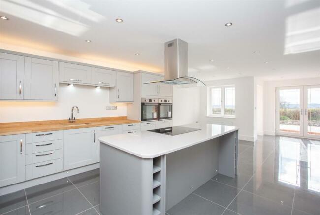 Open Plan Design Living Kitchen