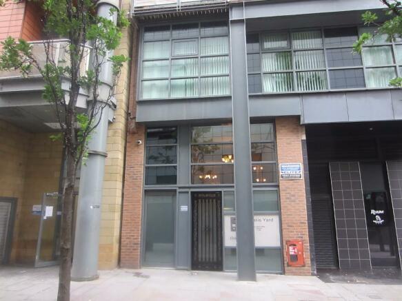 External entrance