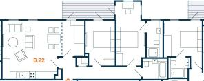 B22 floor plan