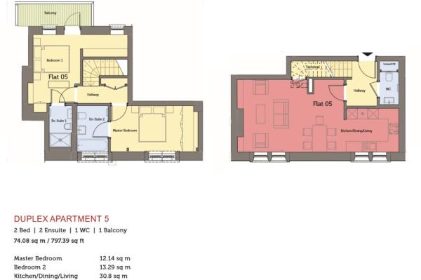 Apartment 5 floor plan.JPG