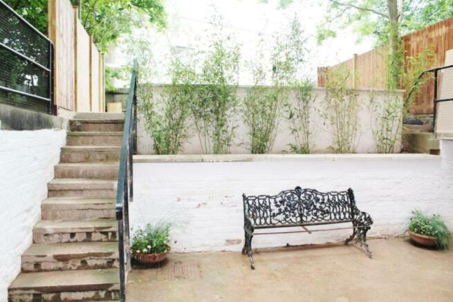 Walled Private Rear Garden