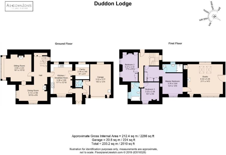 3 bedroom detached house for sale in Duddon Lodge, Duddon