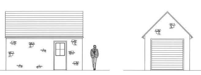 Garage - Proposed