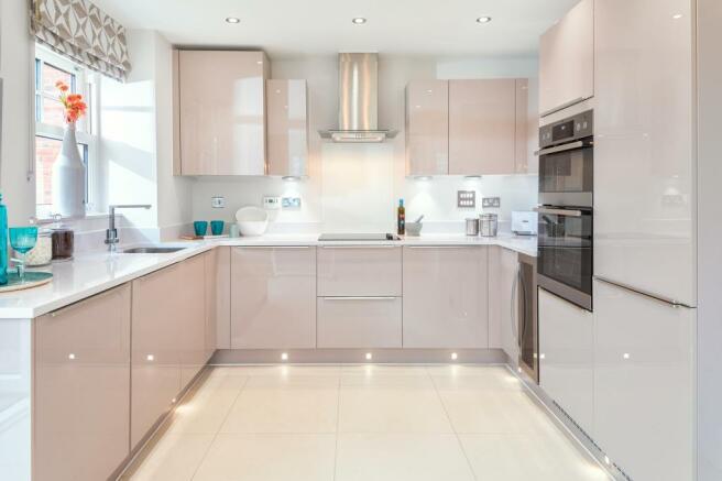 Great open-plan modern kitchen