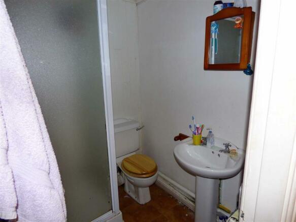 Shower Room (Ground Floor):