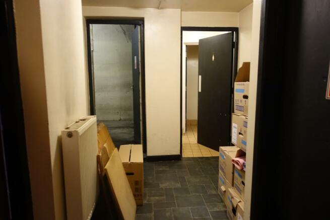 Hallway to w.c & store Rooms