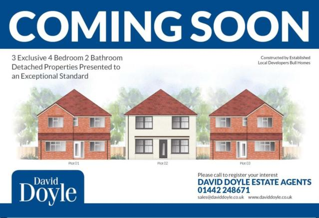 4 Bedroom Detached House For Sale In Last One Remaining