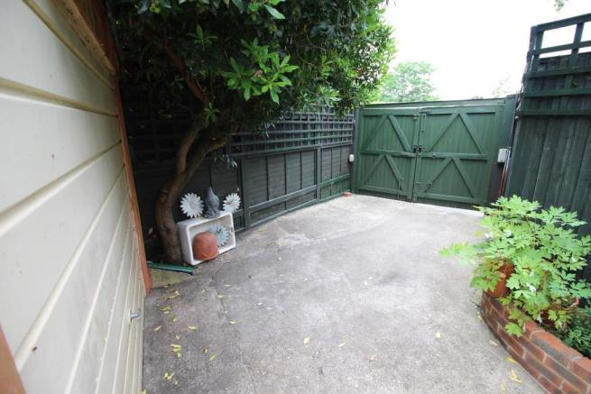 Gated Rear Access