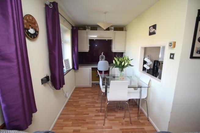 Dining Area and fitted Office Area
