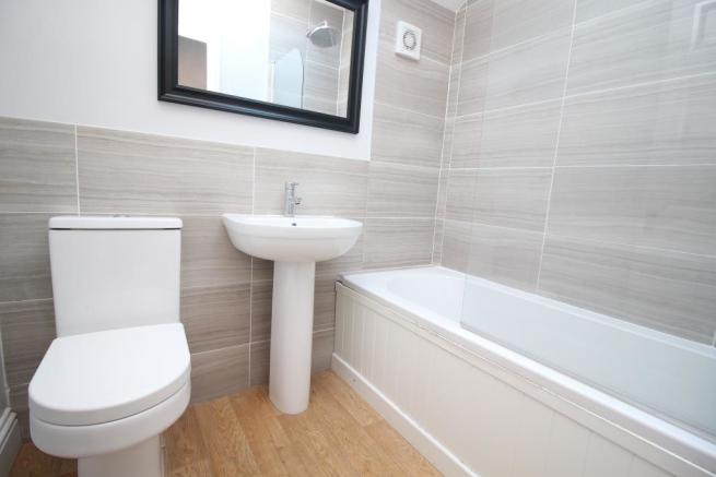 Re-Fitted First Floor Bathroom
