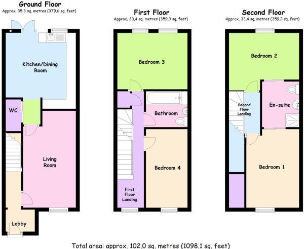 3 Storey, 4 Beds, Blackberry Lane, Coventry 2.JPG