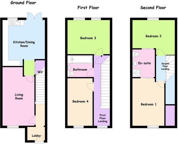 3 Storey, 4 Beds, Blackberry Lane, Coventry.JPG