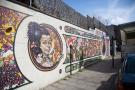 Vibrant Brixton area