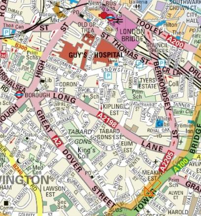 CITY REACH MAP