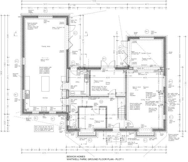 Detailed floor plan