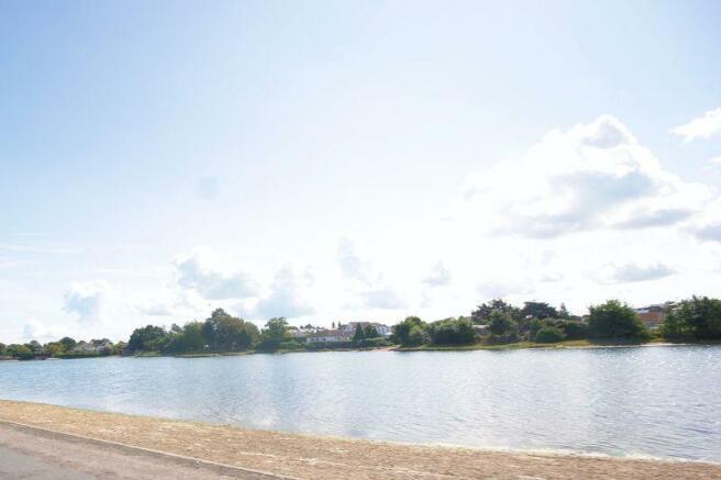 Lake at end of...