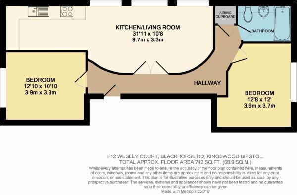 Flat 12 floor plan