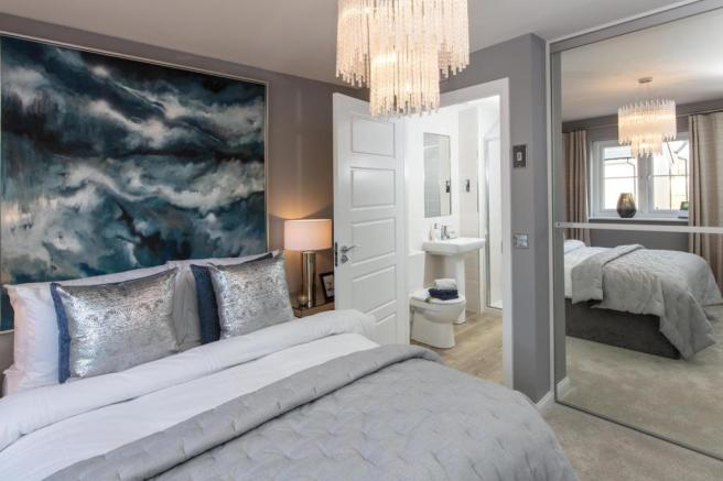 Master Bedroom and en suite