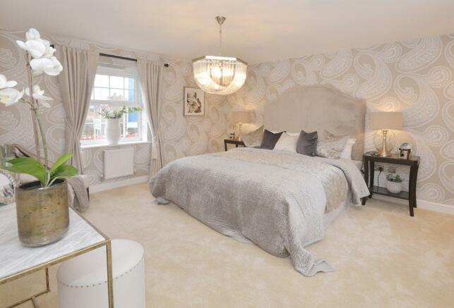 Henley Show Home Master Bedroom