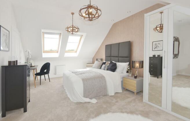 Kennett Show Home Master Bedroom