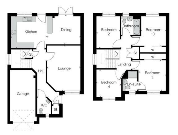 Tweed Floor Plan