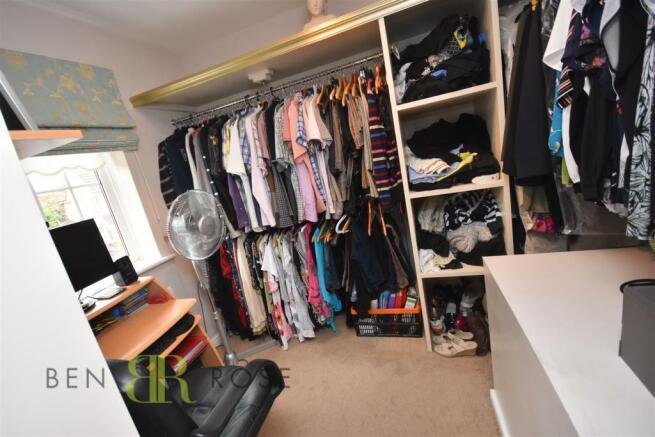 Bedroom Four/Walk in Wardrobe