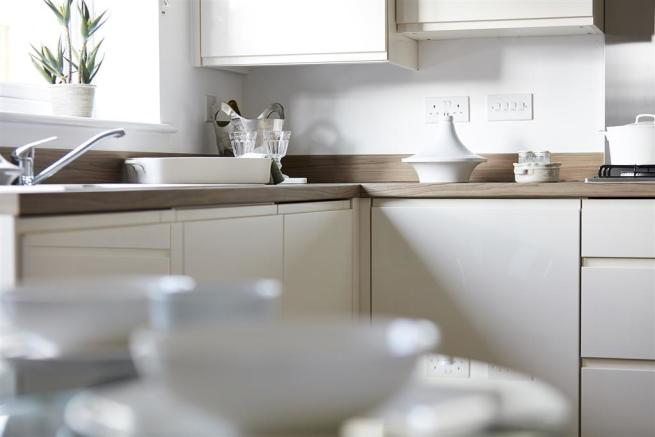 Typical Taylor Wimpey Bungalow kitchen