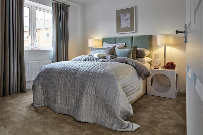 Typical Taylor Wimpey Bungalow bedroom 1