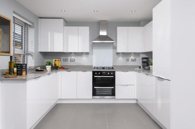 Inside view Maidstone kitchen 3 bed home