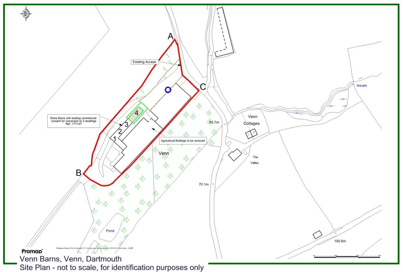 Land for sale in Venn Barn, Venn, Dartmouth, TQ6