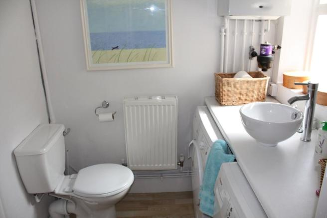 Downstairs wc/uti...
