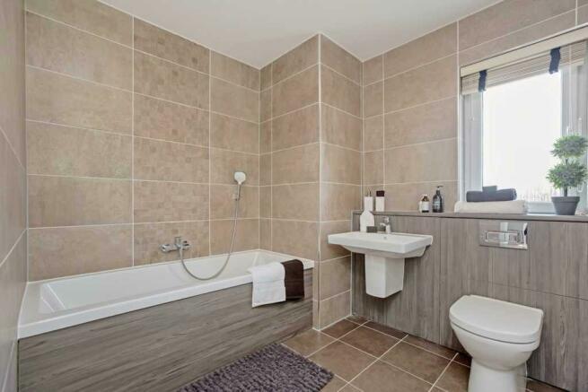 Ivory Family Bathroom