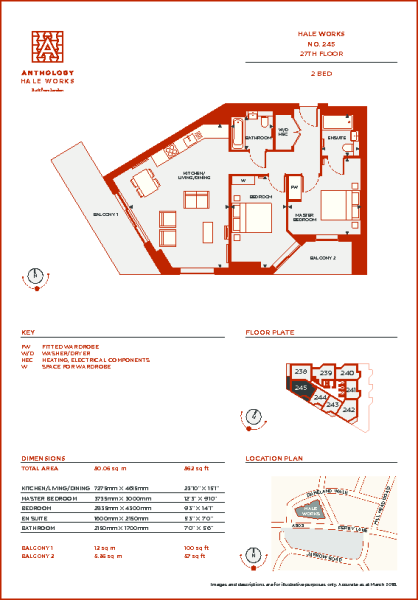No. 245 Floorplans