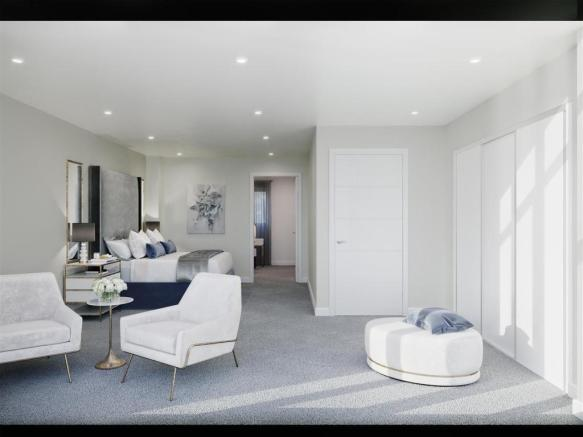 Master Bedroom CGI example